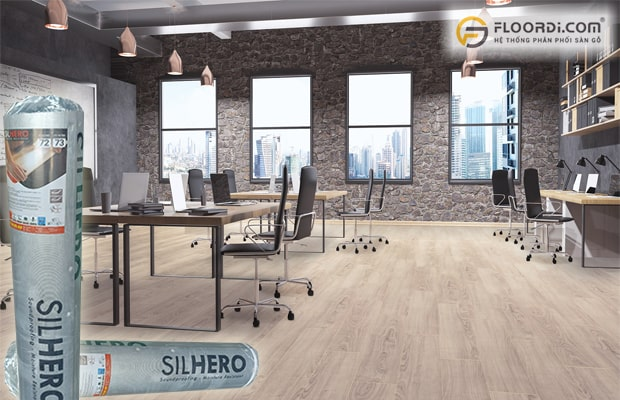 Văn phòng là nơi cần sử dụng tấm lót chống ồn