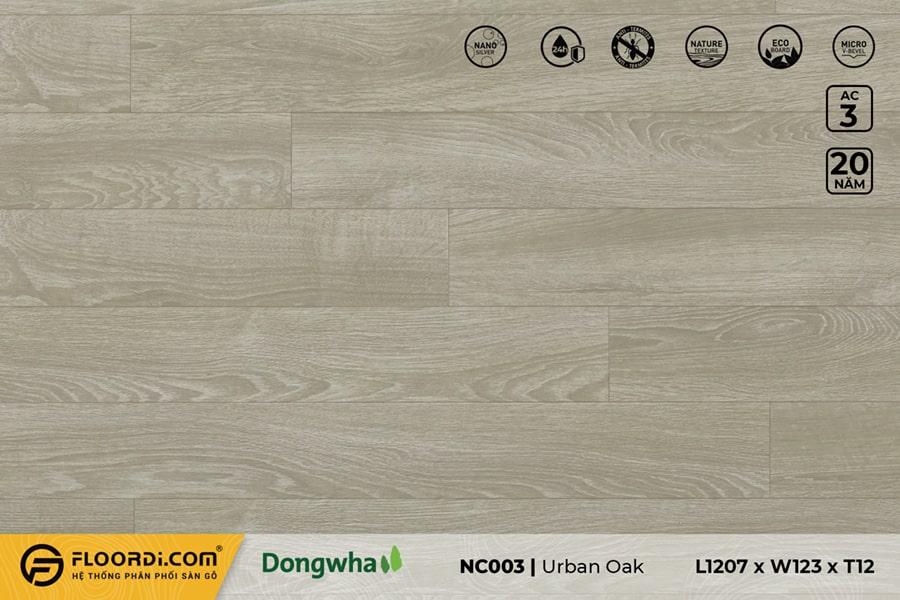 Sàn gỗ NC003 Urban Oak – 12mm – AC3