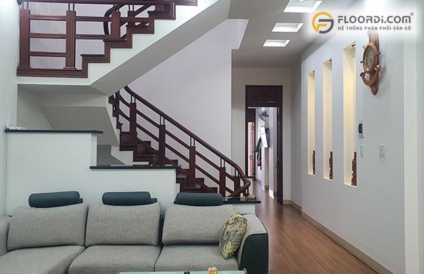 Lắp đặt sàn gỗ Floorpan FP958 cho công trình nhà dân tại Gia Lai