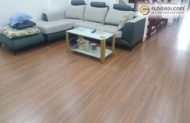 Công trình lắp đặt sàn gỗ tại Gia Lai