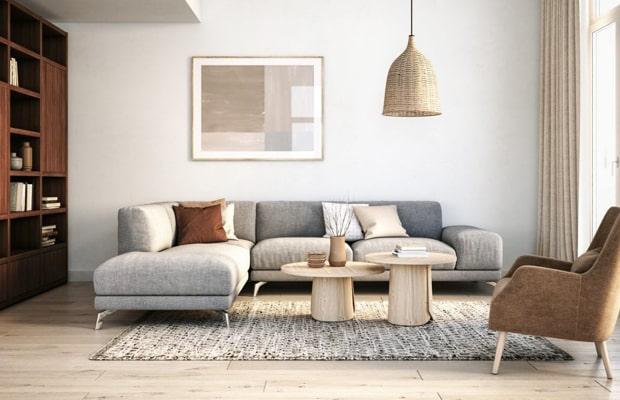 Decor phong cách Scandinavian thường dùng tông màu trắng làm chủ đạo
