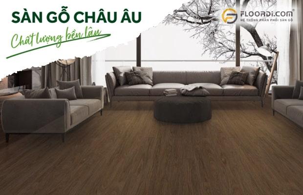 Dongwha - Sàn gỗ Hàn Quốc đạt tiêu chuẩn Châu Âu