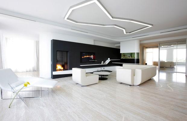 Phong cách kiến trúc Minimalist lấy sự thông thoáng và tối giản làm trung tâm