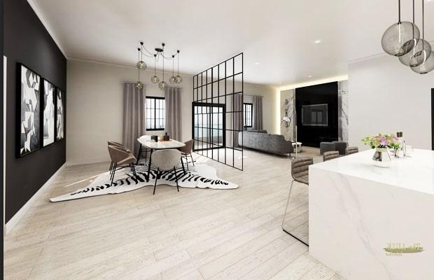Không gian thoáng đãng ít đồ nội thất là yếu tố cần thiết để tạo nên Minimalism Style