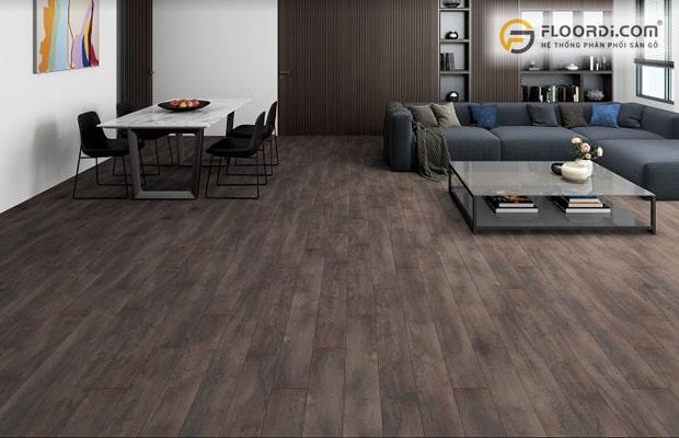 Chọn màu sàn gỗ phù hợp với mạng Mộc nên ưu tiên các màu tông đen xám