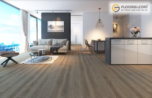 Sàn gỗ là vật liệu hiện đại được đông đảo người Đà Nẵng đón nhận và sử dụng