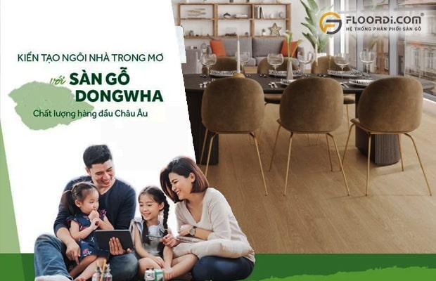 Ván sàn Hàn Quốc Dongwha sở hữu những ưu điểm vượt trội