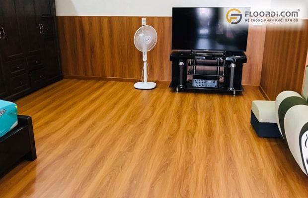Dùng loại gỗ lát sànchịu nướctừ cấp độ 1 đến 5 giúp đảm bảo không gian luôn như mới