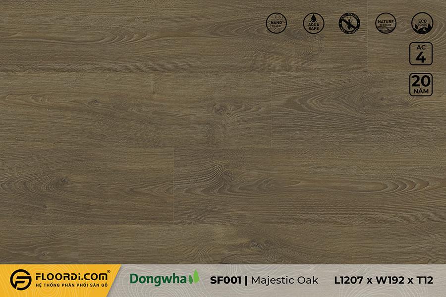 Sàn gỗ SF001 – Majestic Oak – 12mm