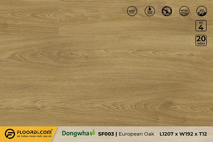 Sàn gỗ SF003 – European Oak – 12mm