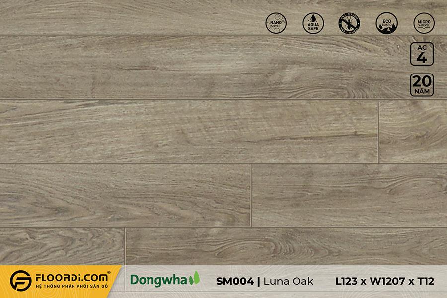 Sàn gỗ SM004 – Luna Oak – 12mm