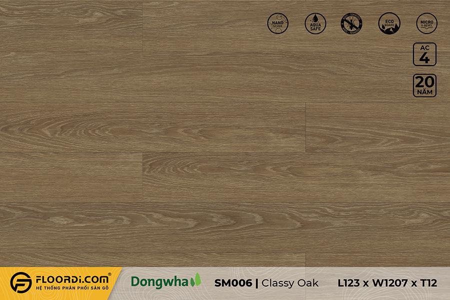 Sàn gỗ SM006 – Classy Oak – 12mm