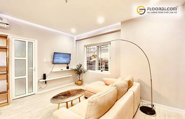 Sở hữu chất lượng vượt trội, thiết kế đẹp, độ bền cao nên sàn gỗ được khách hàng Cần Thơ yêu thích