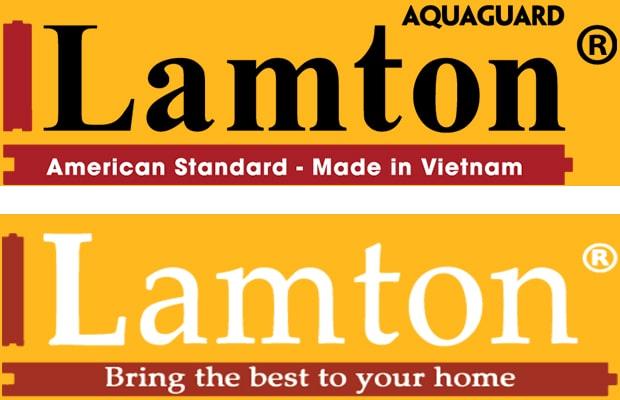Thương hiệu Lamton với hai dòng hàng là Lamton China và Lamton Aquaguard