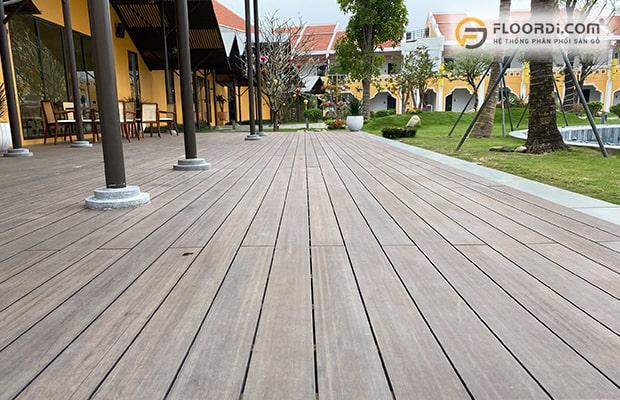 Thi công gỗ nhựa ngoài trời đúng cách đem lại công trình chất lượng, an toàn và bền đẹp