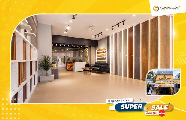 Chương trình áp dụngtạicác cửa hàng thuộc hệ thống Floordi trên toàn quốc.