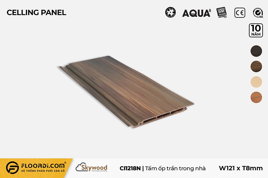 Tấm Ốp tường – Ốp trần CI1218N – Nutmeg – 8mm