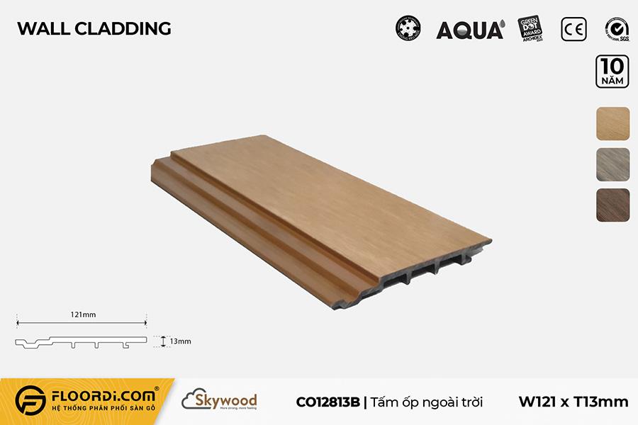 Tấm Ốp tường – Ốp trần CO12813B – Burmese Teak – 13mm