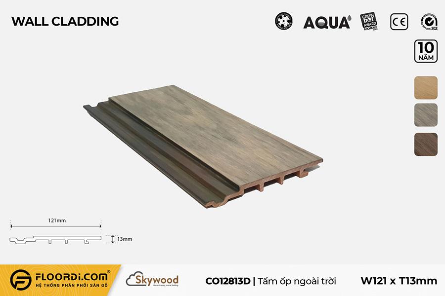 Tấm Ốp tường – Ốp trần CO12813D – Driftwood – 13mm