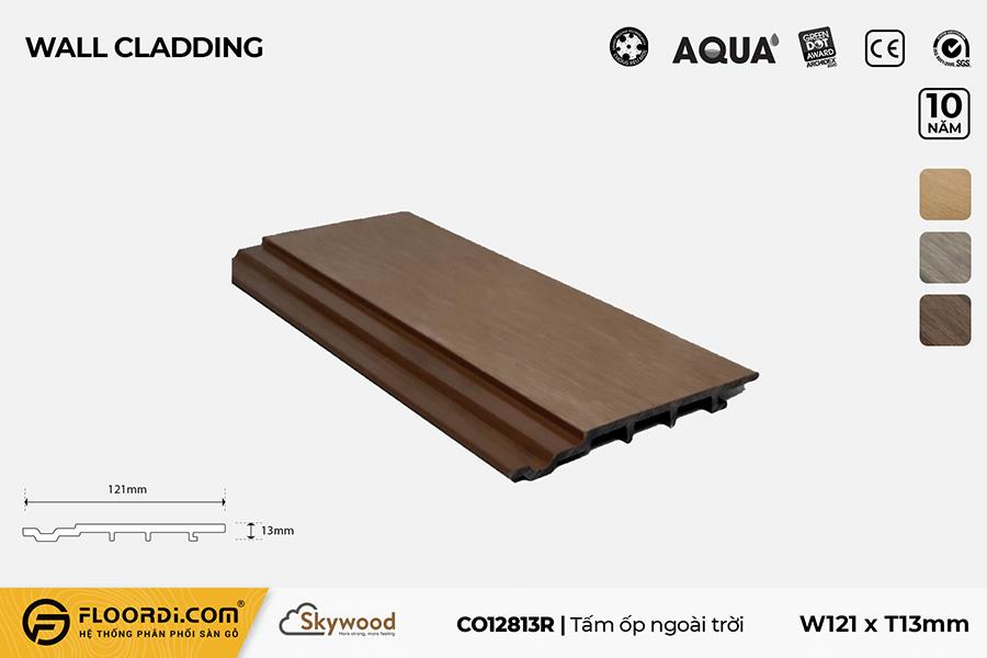 Tấm Ốp tường – Ốp trần CO12813R – Rosewood – 13mm