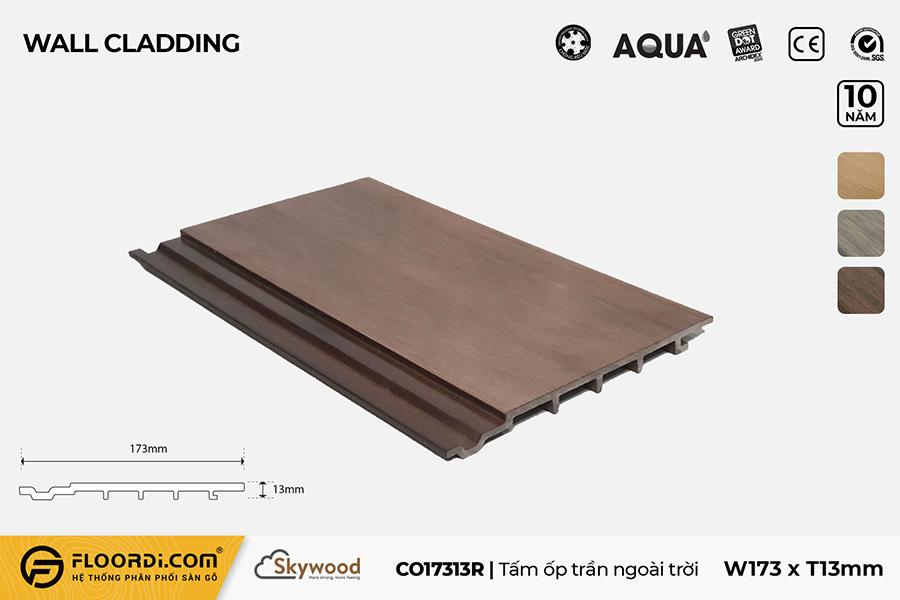 Tấm Ốp tường – Ốp trần CO17313R – Rosewood – 13mm