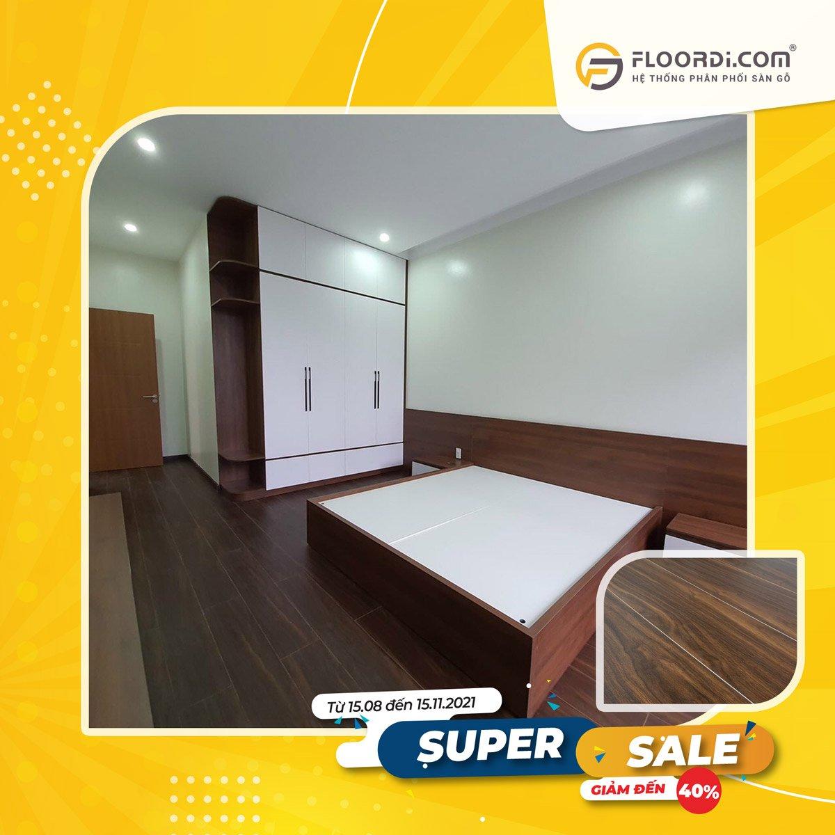 Sàn gỗ D2301-1 Eiche – 12mm – AC3