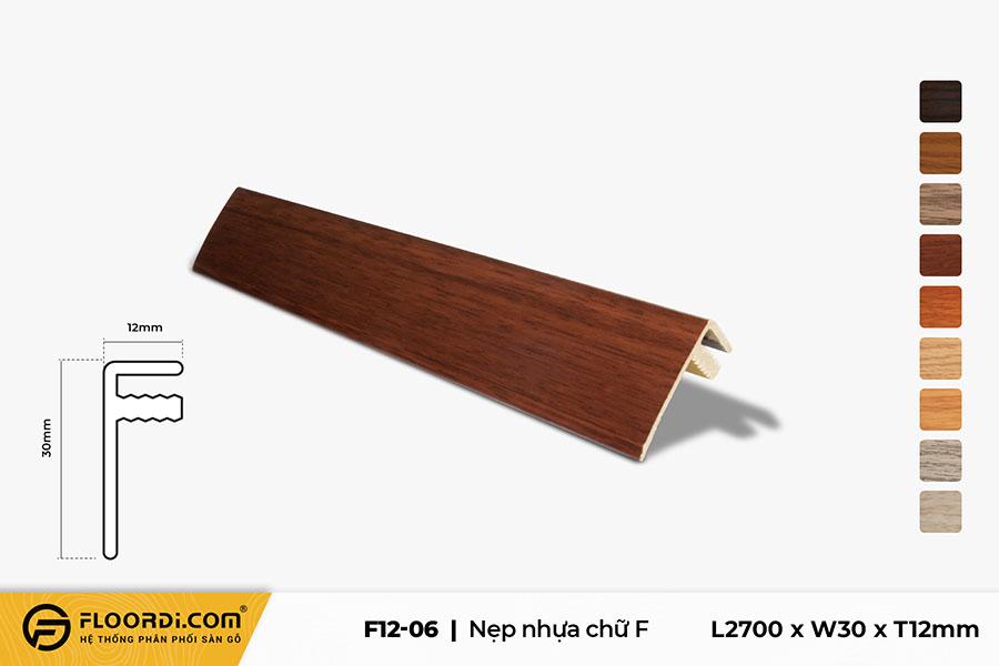 Nẹp chữ F – F12-06 – 12mm
