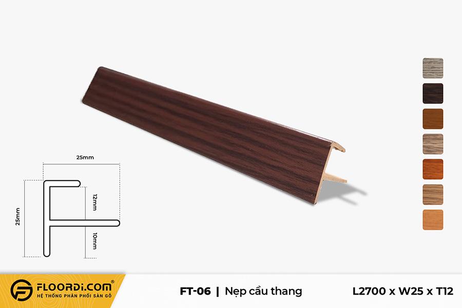 Nẹp chữ F – FT-06 – Brown Black – 12mm