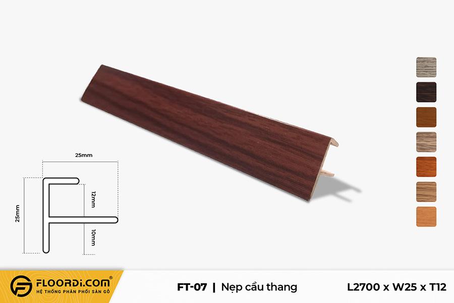 Nẹp chữ F – FT-07 – Sepia – 12mm