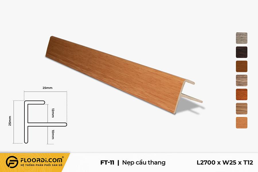 Nẹp chữ F – FT-11 – Sepia – 12mm