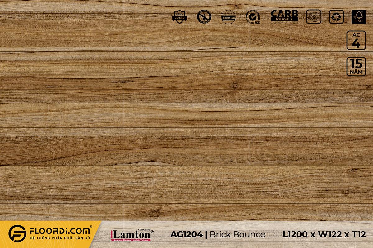 Sàn gỗ AG1204 Brick Bounce – 12mm – AC4