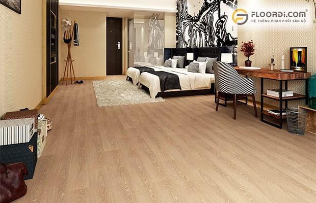 Ván sàn là dòng vật liệu được sử dụng rộng rãi trong các công trình, nhà ở tại Hà Nội