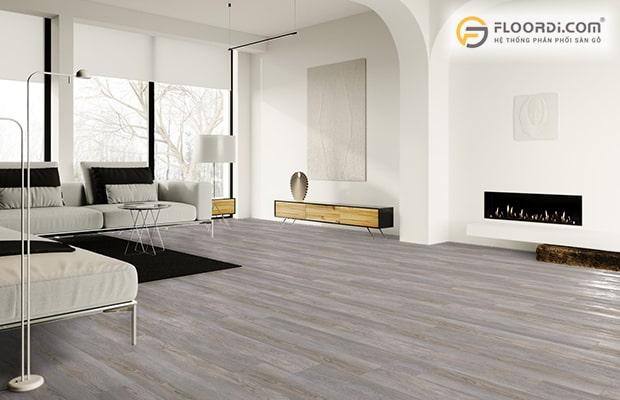 Nếu chọn vật liệu để ốp lát nền nhà, công trình thì nên chọn dòng sàn có cốt gỗ HDF