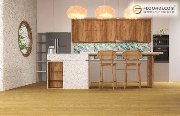 Gỗ được sử dụng phổ biến trong lối thiết kế nội thất Indochine