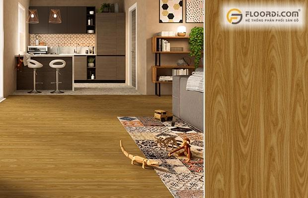 Sàn gỗ là vật liệu thể hiện rõ nét tinh thần và ý nghĩa của lối kiến trúc Đông Dương